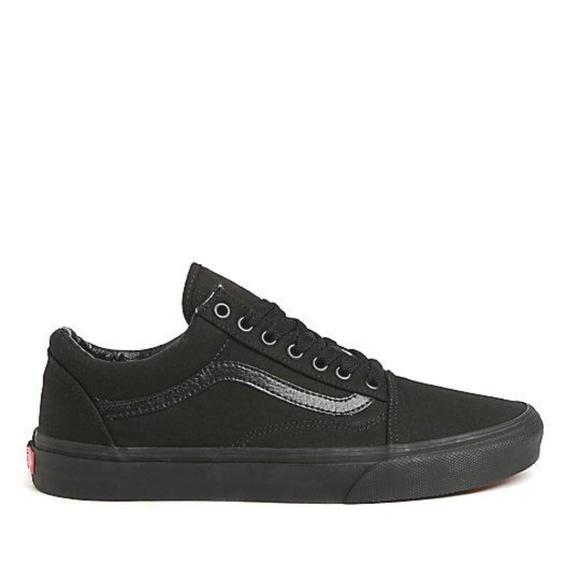 be8ceeeb51081b Vans Old Skool Mono Black Skate Shoes Men s Sz 10.  M 5b6891adaa5719f357ccfc9d
